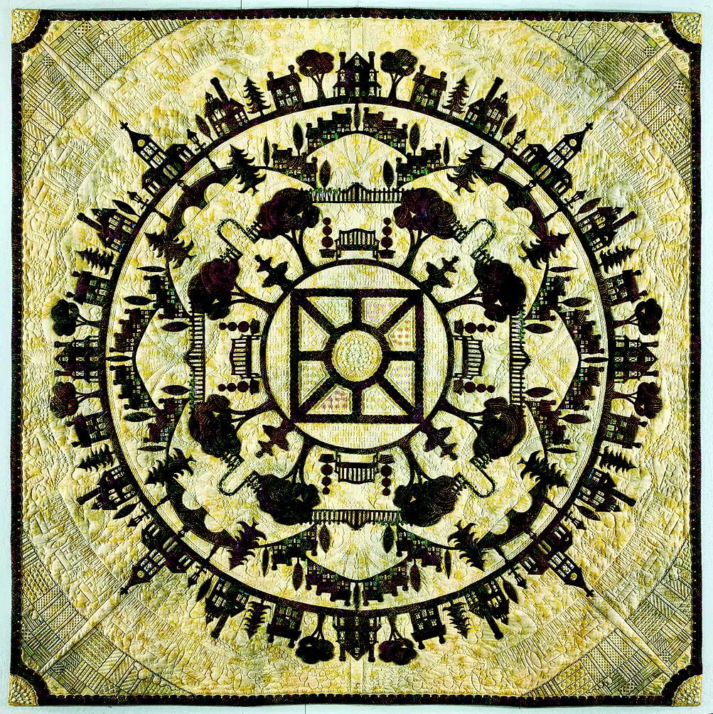 HAWAIIAN IMPROV quilt by Cheryl L. See. AQS Paducah - Fall 2017 ... : paducah quilt festival - Adamdwight.com
