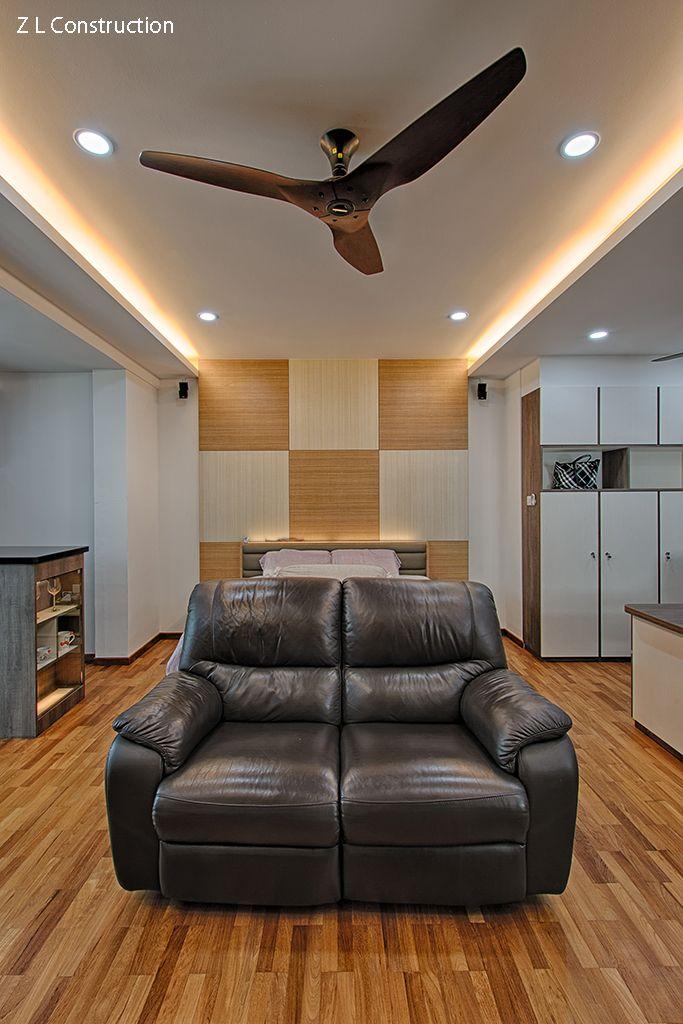 Z L Construction (Singapore)  Haiku ceiling fan in bamboo finish