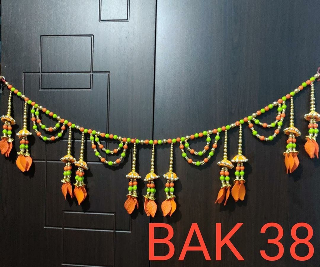 INTRODUCING ALL NEW SERIES OF BEAUTIFUL AND ATTRACTIVE BANDARWALS/DOOR HANGINGS  BEST COLOURS COMBINATIONS AND ALL BUILD TOGETHER TO BRING MORE BEAUTY TO YOUR HOUSE!! ORDER THEM NOW BEFORE STOCK GETS COMPLETE!! SIZE OF EVERY BANDARWAL IS APPROX 37INCH TO 39INC