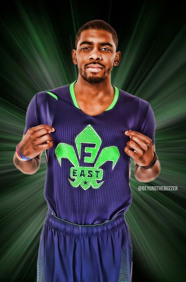 classic fit e8a62 5d914 Kyrie Irving with All Star uniform 2014 | Kyrie Irving ...