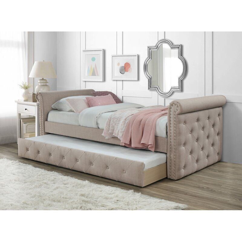 Seddon Twin Daybed With Trundle Twin Daybed With Trundle Daybed Room Daybed With Trundle