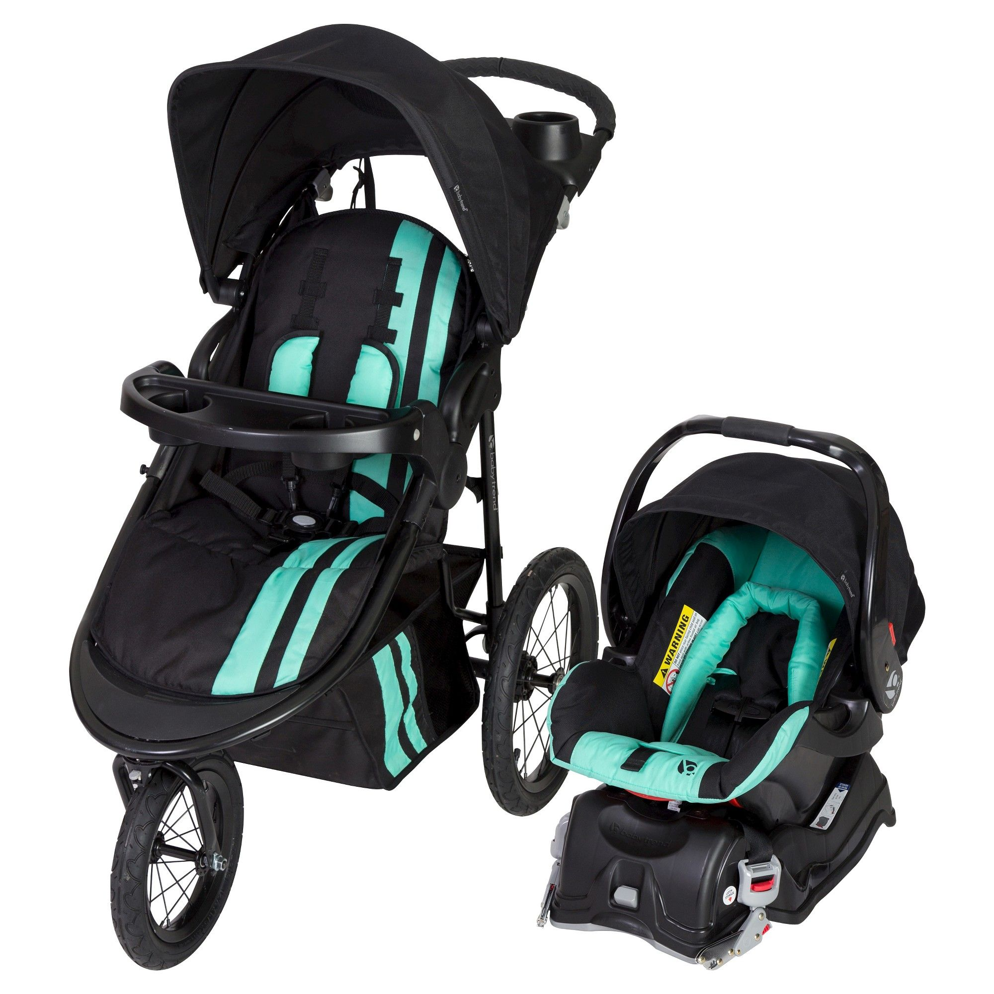 Baby Trend Cityscape Jogger Travel System Vivid Green Baby