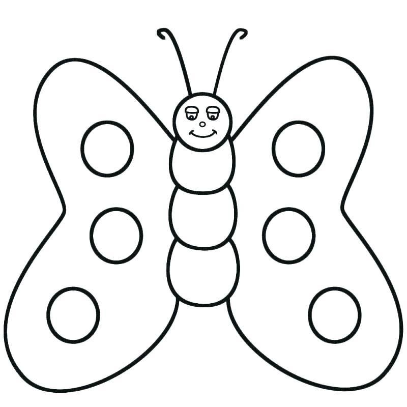 Butterfly Coloring Pages For Toddlers X Butterfly Colouring Pages