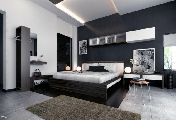 Astuces déco chambre noir et blanc | CHAMBRE A COUCHER | Pinterest ...