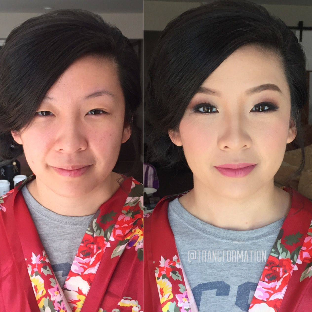 makeup, bridal makeup, asian makeup, natural makeup, before