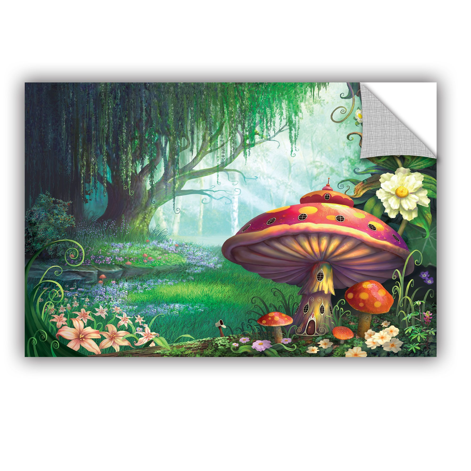 Enchanted Forest by Philip Straub Graphic Art Removable