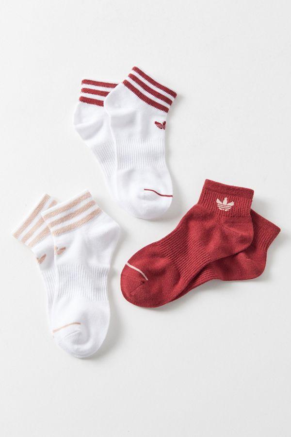 Adidas Originals Uo Exclusive Quarter Sock 3 Pack In 2020 Sock Outfits Stylish Socks Adidas Originals Outfit