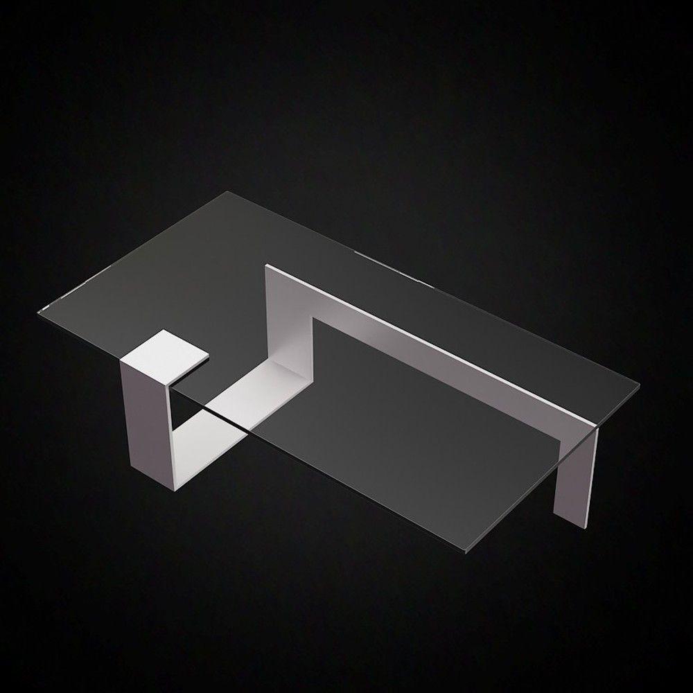 Tonelli Plinsky Glass Coffee Table | 2 Sizes | MEBEL | Pinterest ... - Tonelli Plinsky Glass Coffee Table | 2 Sizes