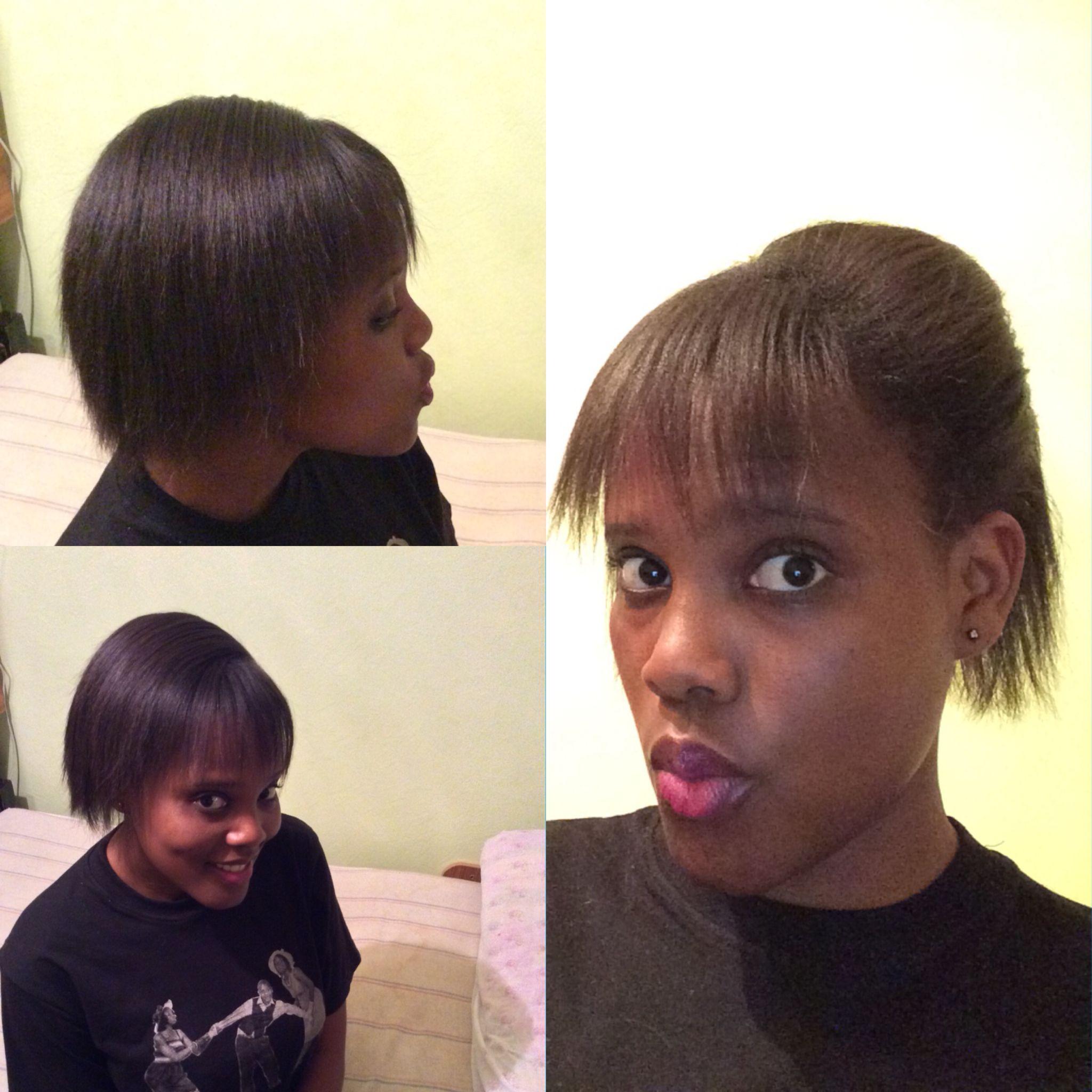 Flat Ironed Short 4c Hair Flat Iron Hair Styles 4c Hairstyles Short Hair Styles
