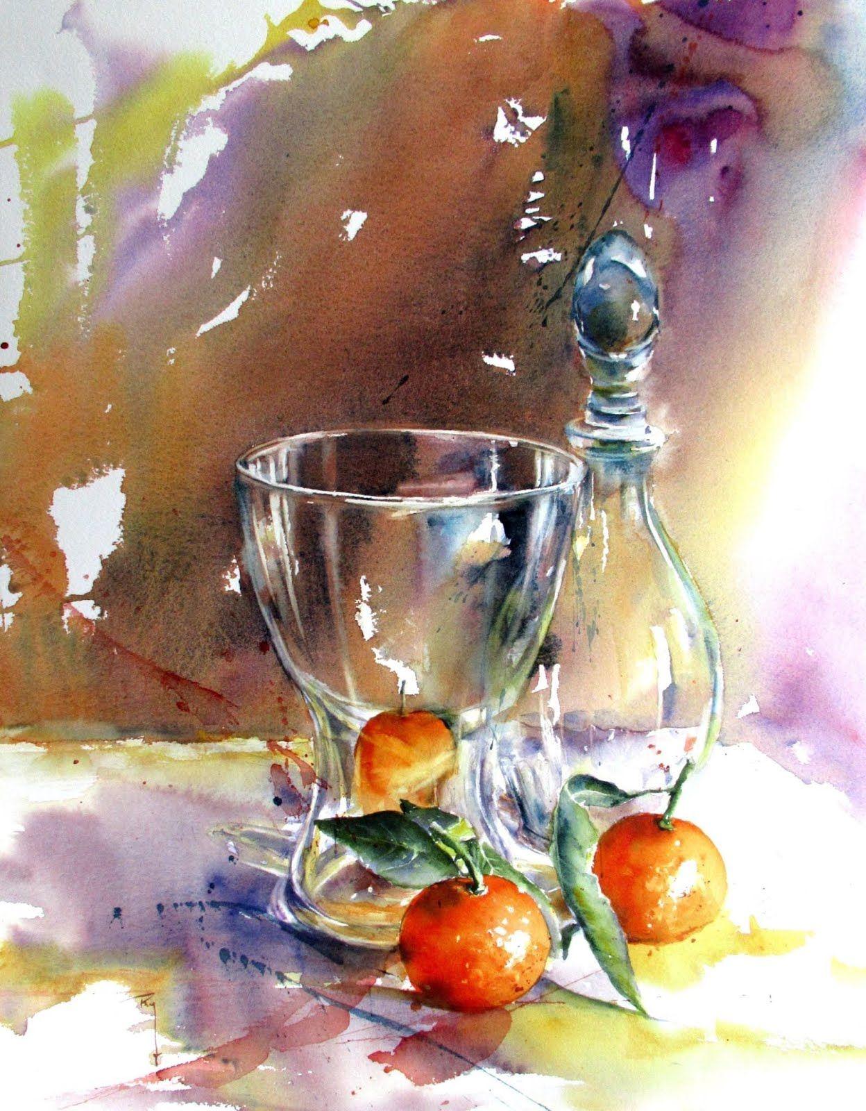 Watercolour Paintings 39 Sanatsal Resimler Suluboya Resimler