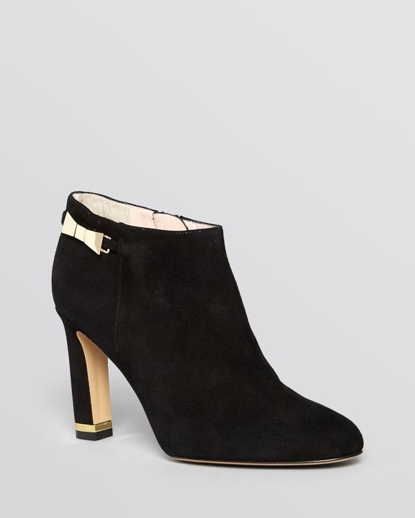 outlet factory outlet Kate Spade New York Aldaz Bow-Accented Booties outlet official G6XCm97x