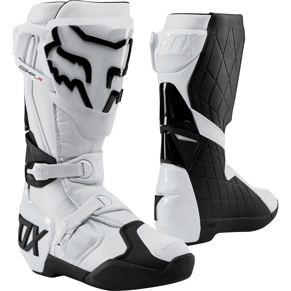 Fox Racing Comp 5 Motocross MX Boots Black//White Choose Size