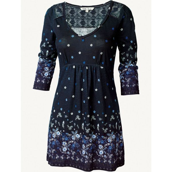 Fat Face Hollywell China Border Tunic ( 63) found on Polyvore. Navy  TunicTunic DressesDress ... fadecfd1a