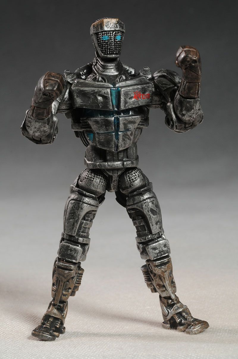 Jakks Real Steel Atom, Zeus action figure | Cumple y Dibujo