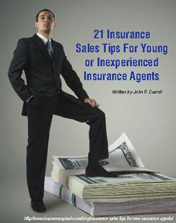 Pdf Tip Sheet For New Insurance Agents Producers 21 Sales Tips Life Insurance Sales Life Insurance Agent Life Insurance Marketing