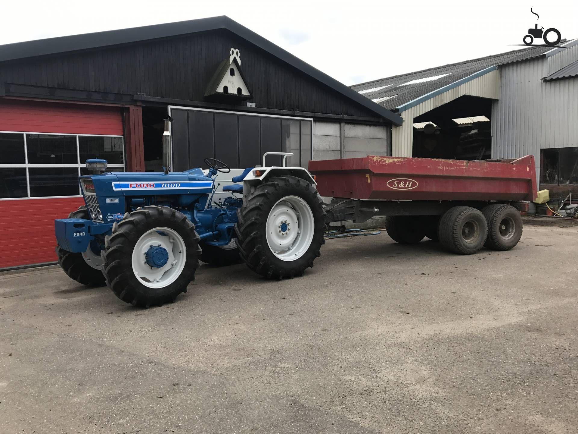 ford 7000 op tractorfan tractors farm machines pinterest