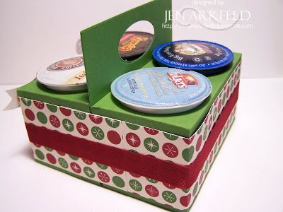 FREE template and tutorial K cu holder Paper crafting boxes