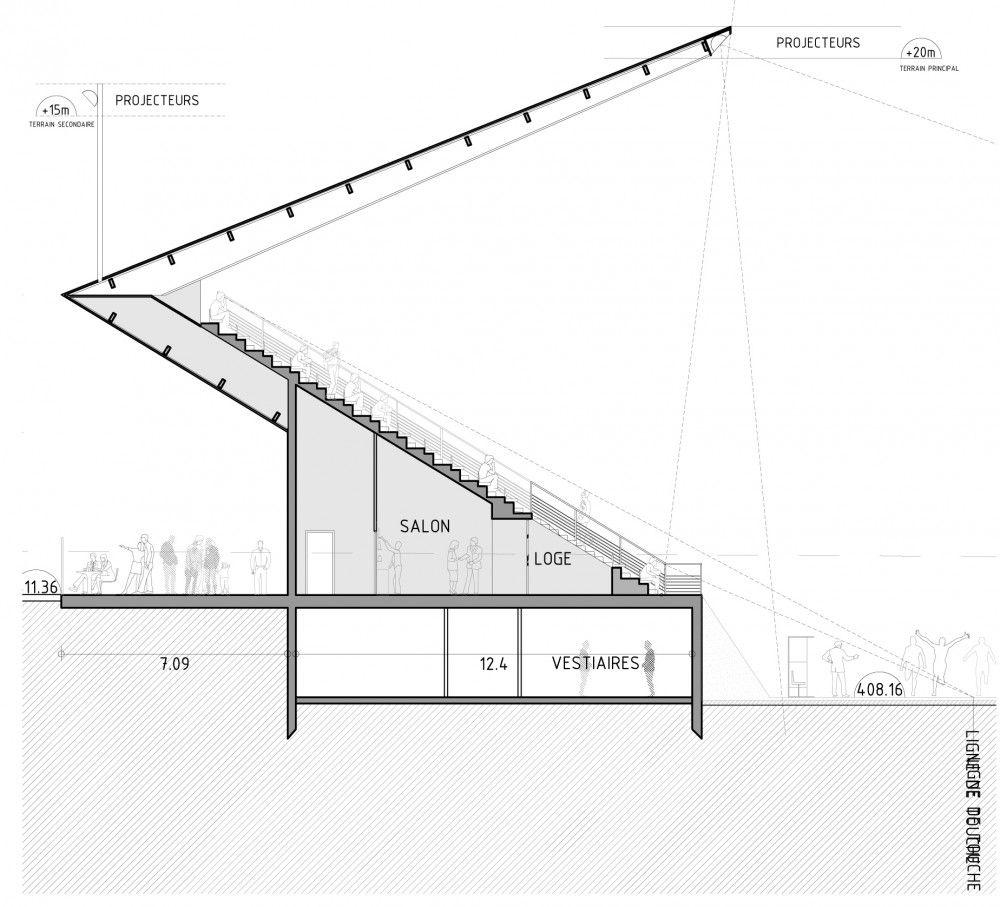 Gallery of Football Stadium / DATA Architects 3