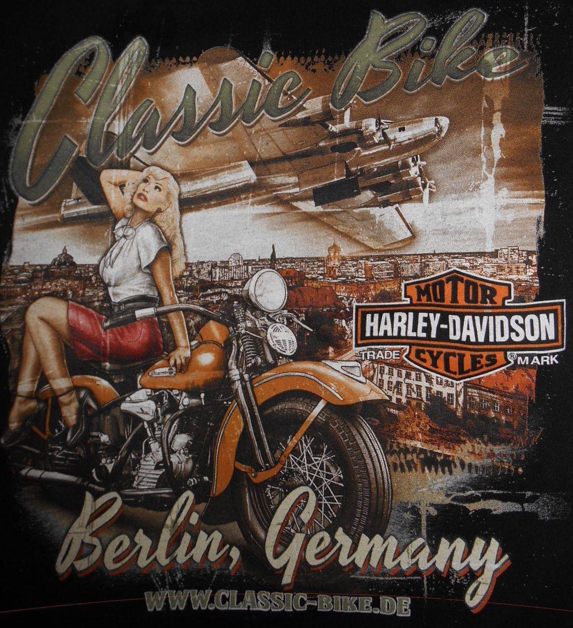 Berlin German Hd Harley Davidson Artwork Harley Davidson Merchandise Harley Davidson Art