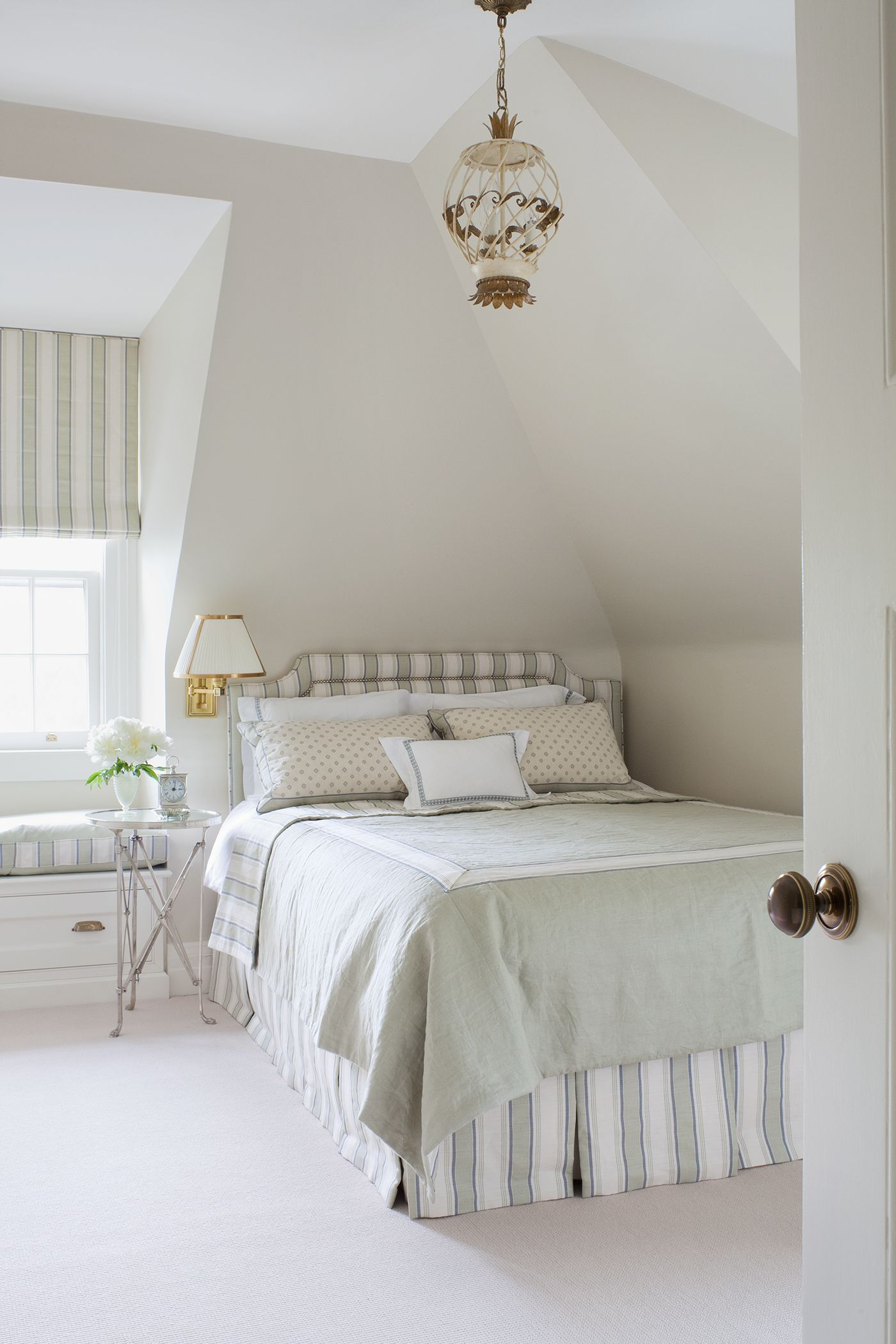 An Elegant Toronto Retreat Bedroom furniture placement