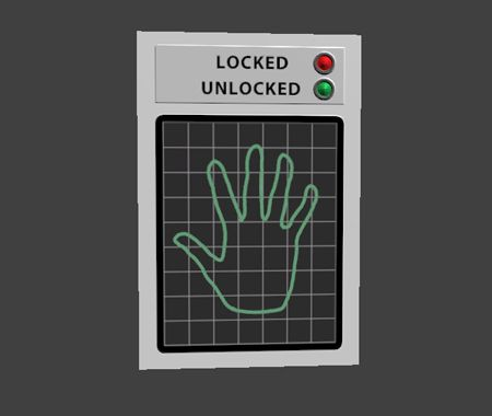 Hand Scanner Space Games Spy Games Mission Impossible