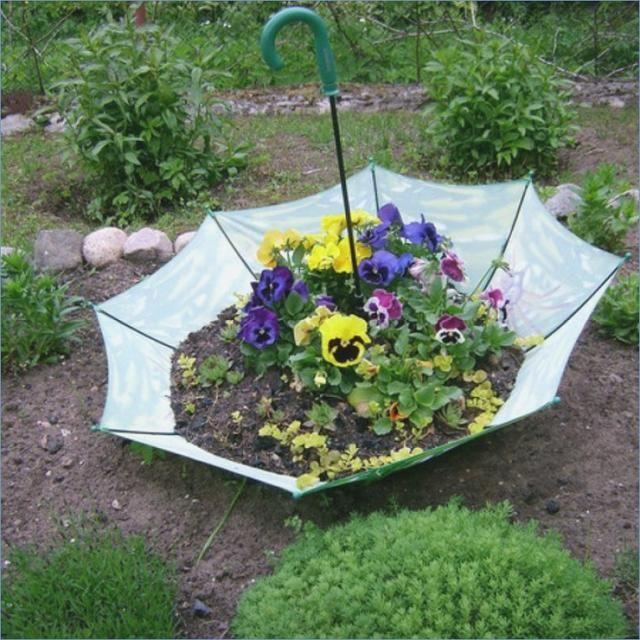 Ungewöhnliche Idee des Dekorationsblumengartens #jardineríaenmacetas