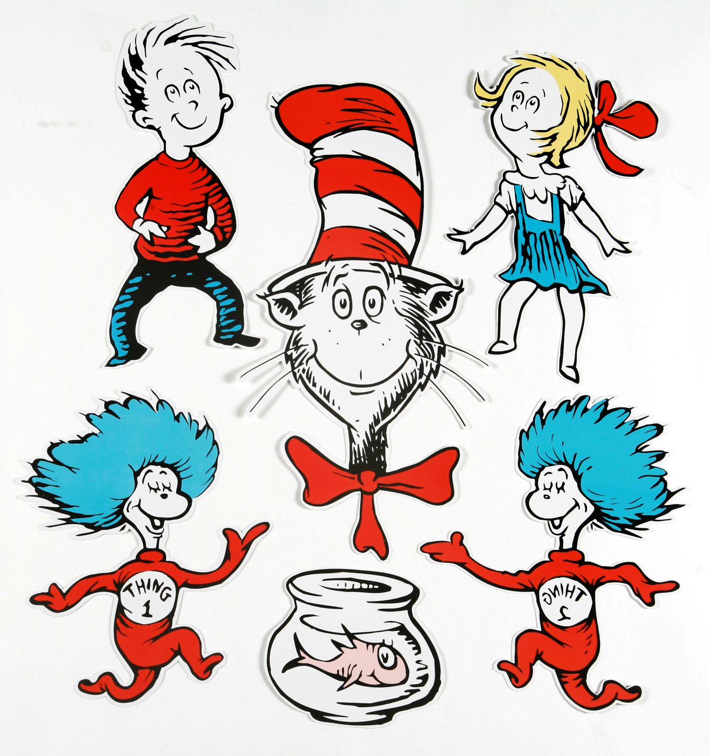 dr seuss characters large dr seuss characters 2 sided