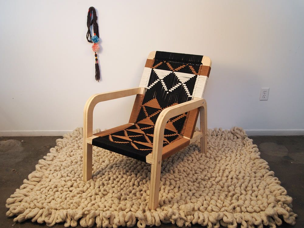 Palapa Macrame Chair By Pacific Wonderland Inc Available