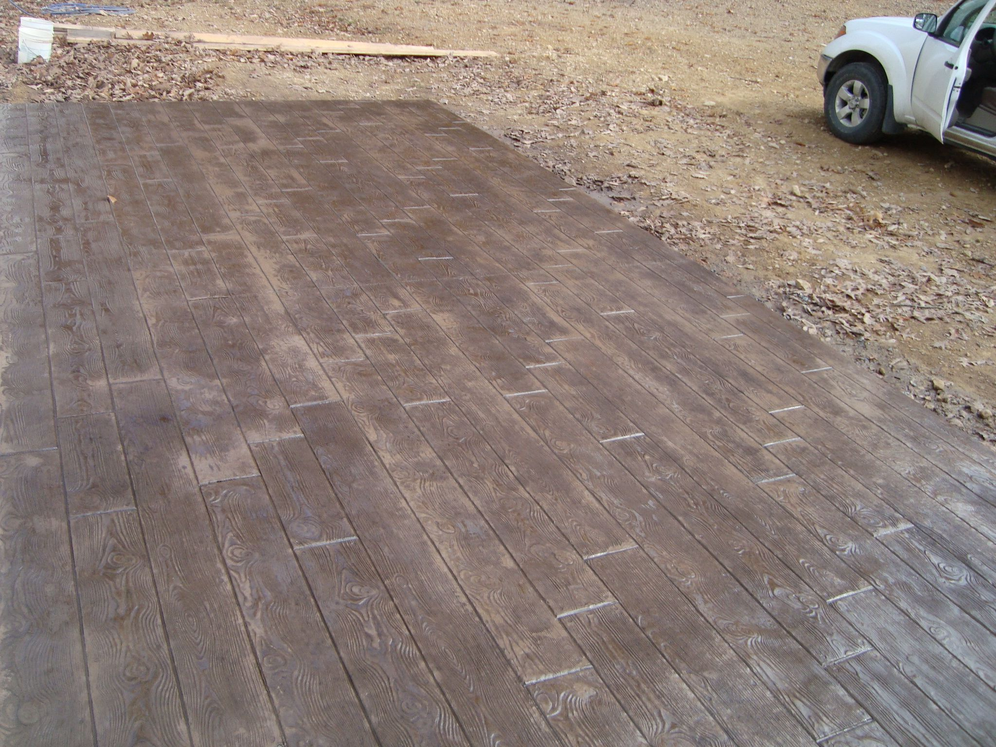 stamped concrete patios | Stamped Concrete Galleries by Mountain ...