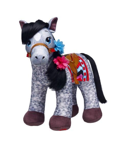 f198411722d Horses & Hearts Riding Club Graceful Appaloosa Gray Horse Set ...