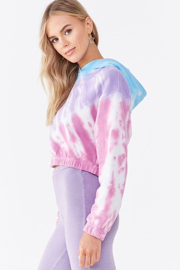 Fleece Tie Dye Cropped Hoodie Forever 21 Cropped Hoodie Tie Dye Hoodie Forever 21 [ 1125 x 750 Pixel ]