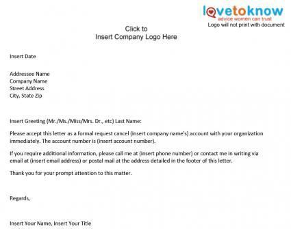 insurance cancellation letter sendletters info format for - indemnity letter template