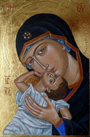 Matka Boska Pelagonitissa.  Galeria Wiera