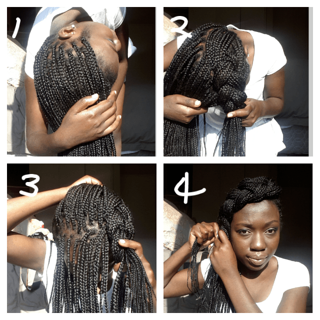 50 Exquisite Box Braids Hairstyles To Do Yourself The Right Hairstyles For You Box Braids Hairstyles Box Braids Updo Box Braids Styling