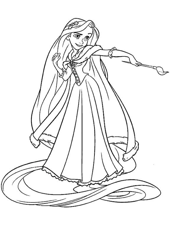 Rapunzel Coloring Pages Rapunzel Coloring Pages Tangled Coloring Pages Princess Coloring Pages