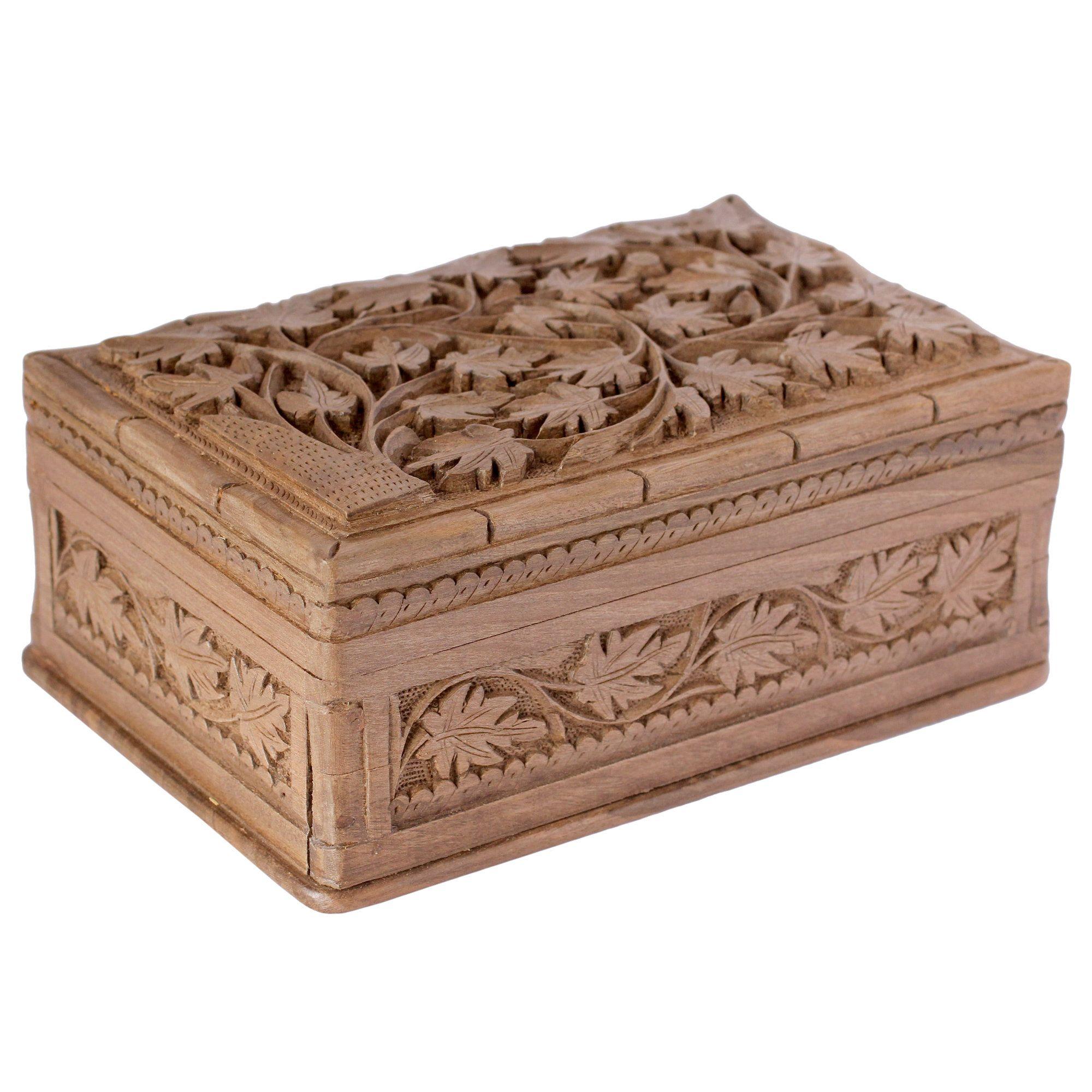 M Ayub Artisan Ivy Fantasy Jewelry Box Wood Jewelry Box Jewelry Box Wooden Jewelry Boxes