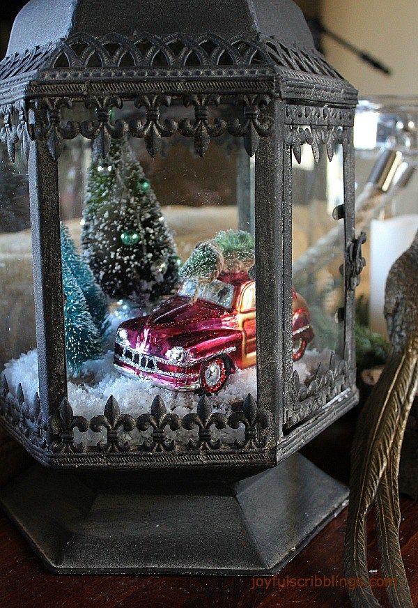 My Home For The Holidays Christmas Lanterns Christmas Decor Diy