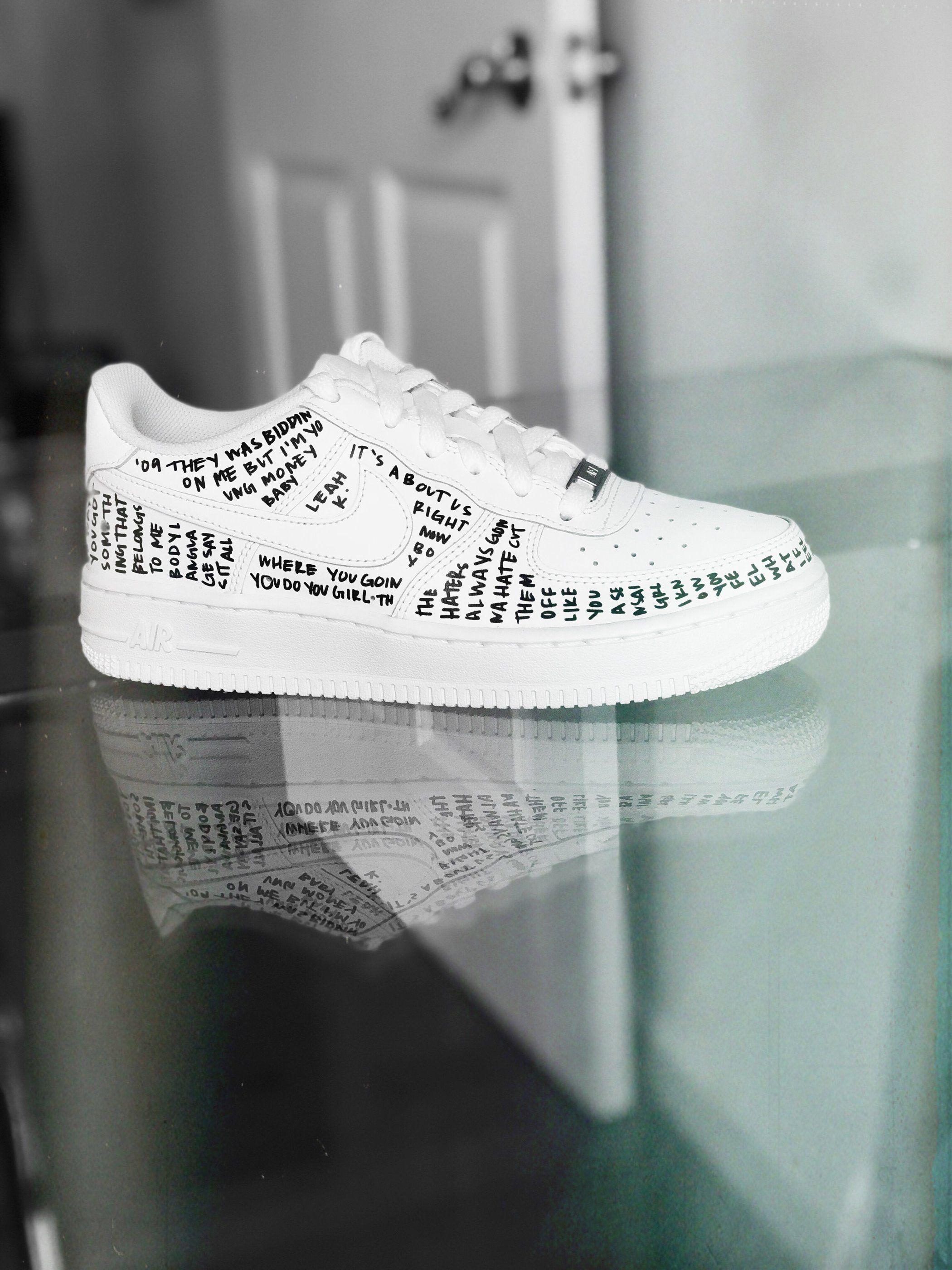 Custom af1, Custom nike shoes