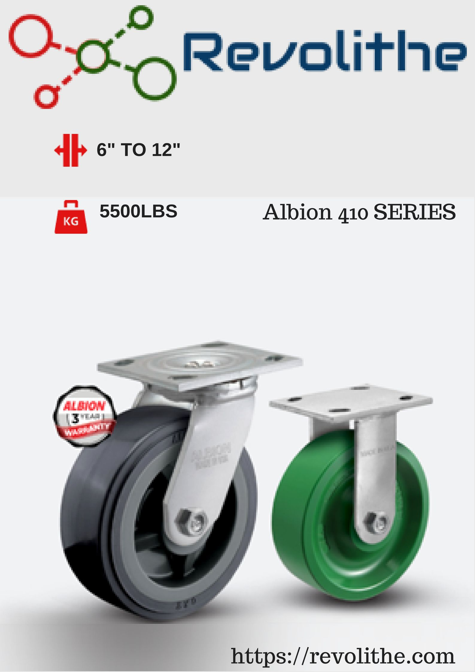 64460e68a546 Albion casters and wheels are designed for any type of load requirement and  application in almost all industries from furniture wheels, industrial  casters ...