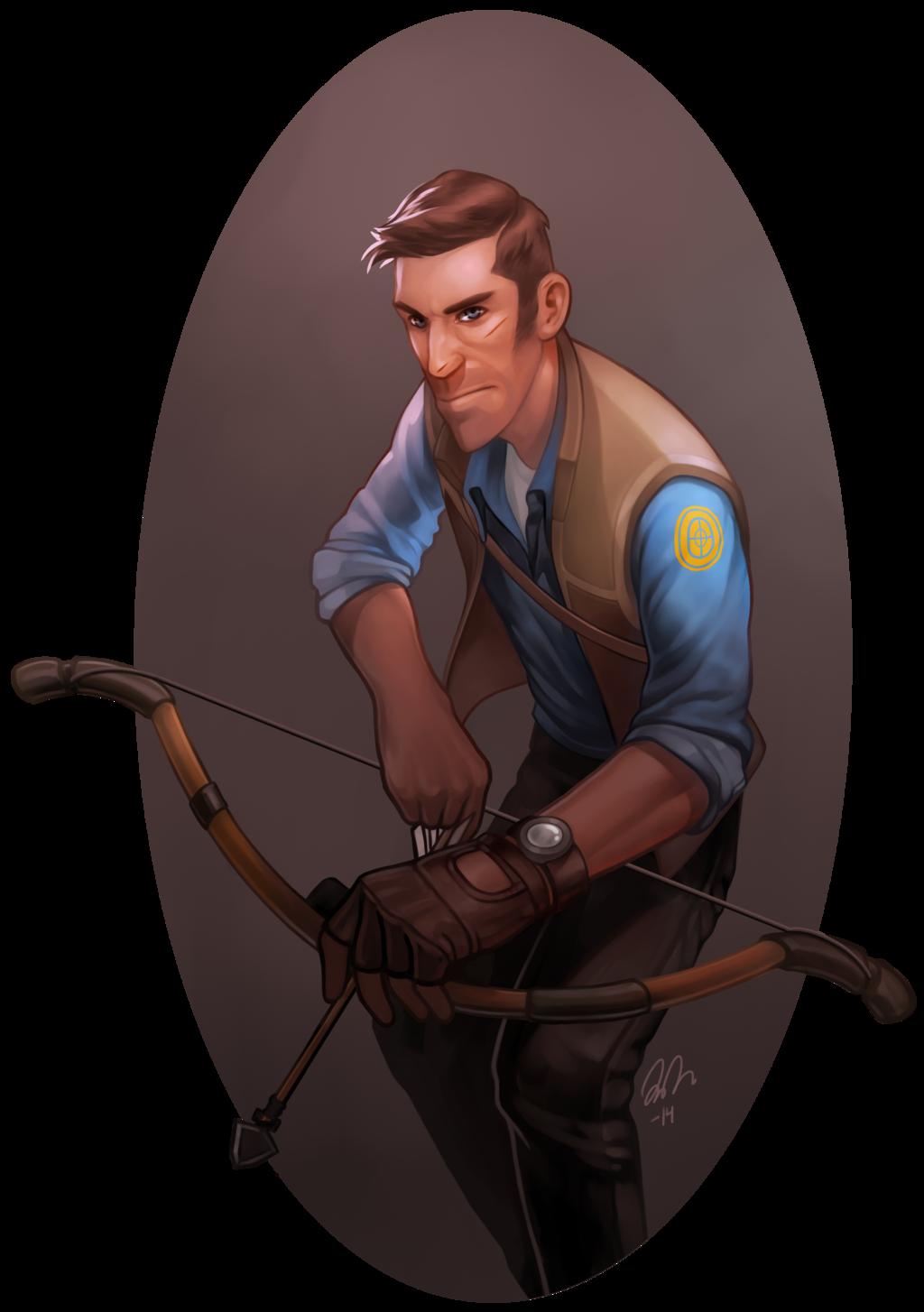 Huntsman Sniper by vilssonify deviantart com on @DeviantArt