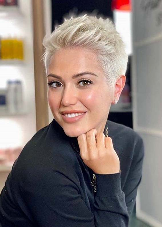 Pixie Cut Try On