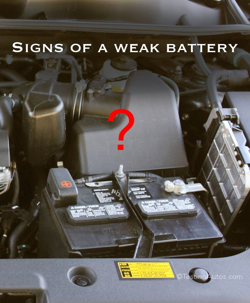 When to replace a battery? Car battery, Car maintenance