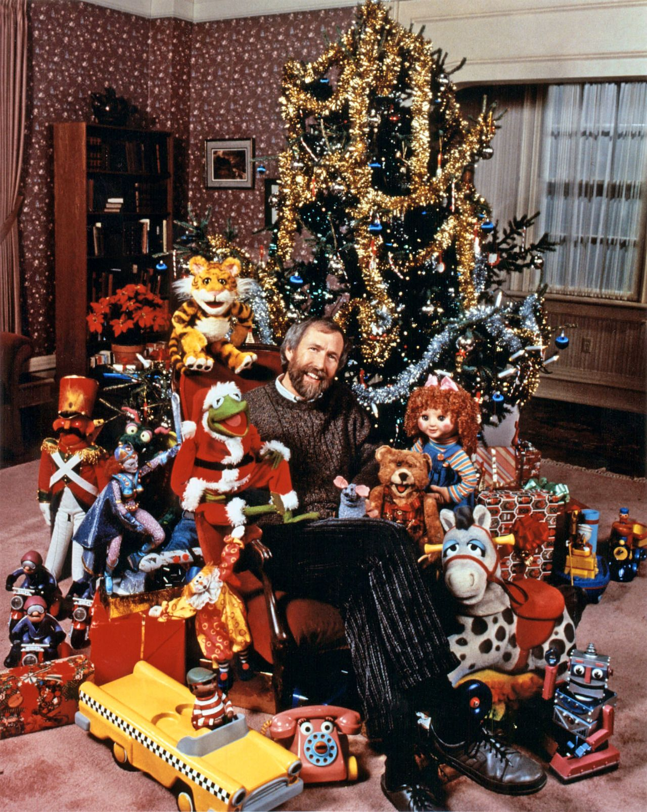 Jim Henson and his Muppets from The Christmas Toy | merry . merry ...