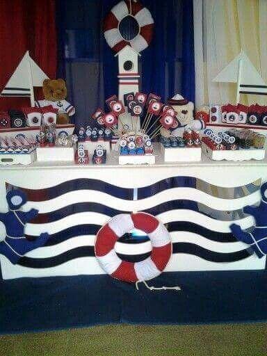 Marino 4 Decoración Marinero Cumpleaños Marinero Fiesta Náutica