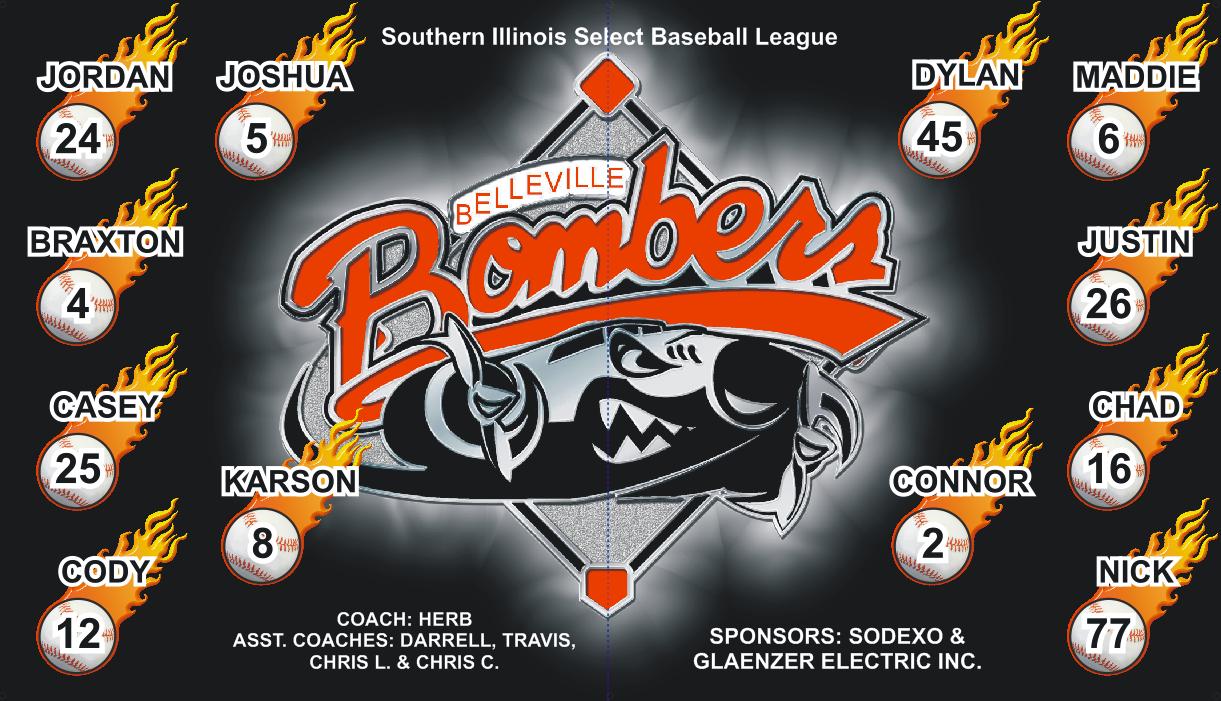 Bombers Baseball Banner Design From Http Www Allstarbanners Com Baseball Banner Design Ayso Soccer Banner Baseball Banner