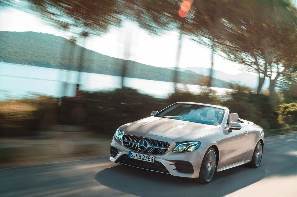 The E Class Cabriolet Is A Direct Relative Of The S Class And It