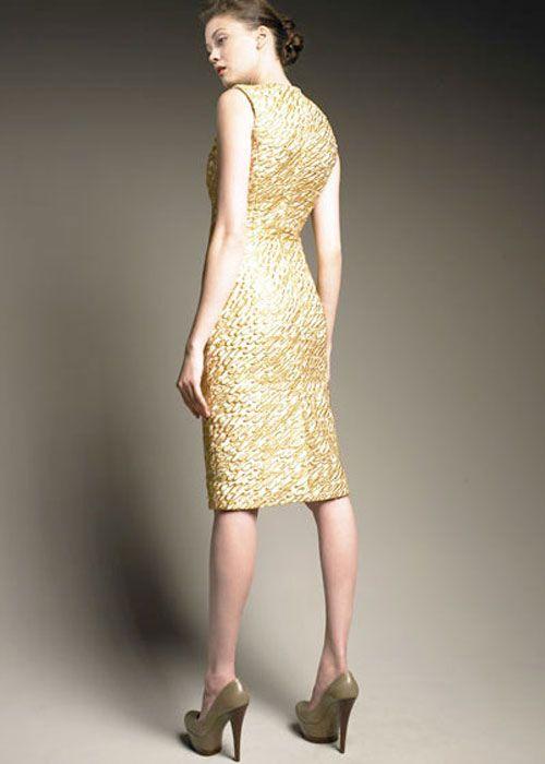 gold dress alexander mcqueen dress sleeveless gold color dress beautiful - Gold Color Dress
