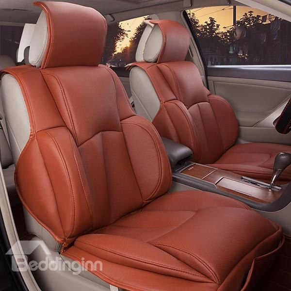 Luxurious Designed For Comfort Pu Leatherette Universal Car Seat