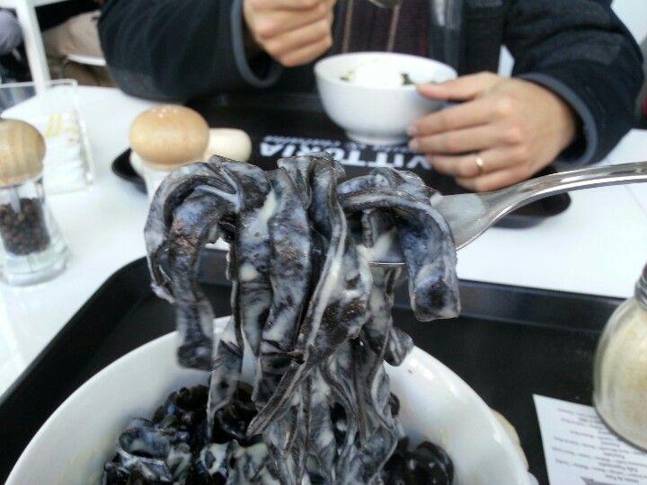 Fetuccini de calamar