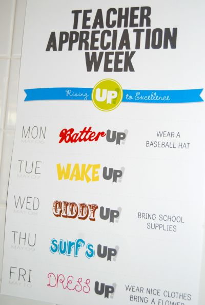 Up Teacher Appreciation Week Raising Lemons Raising Lemons Teacher Appreciation Week Schedule Teacher Appreciation Week Themes Teacher Appreciation Week